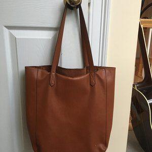 Old Navy Faux Cognac Leather bag